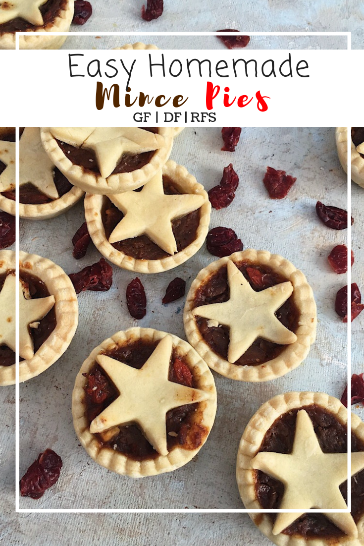 Easy gluten and dairy free mincemeat.
