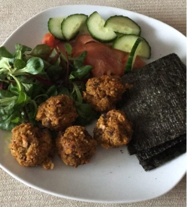 gluten and dairy free vegetarian meatballs