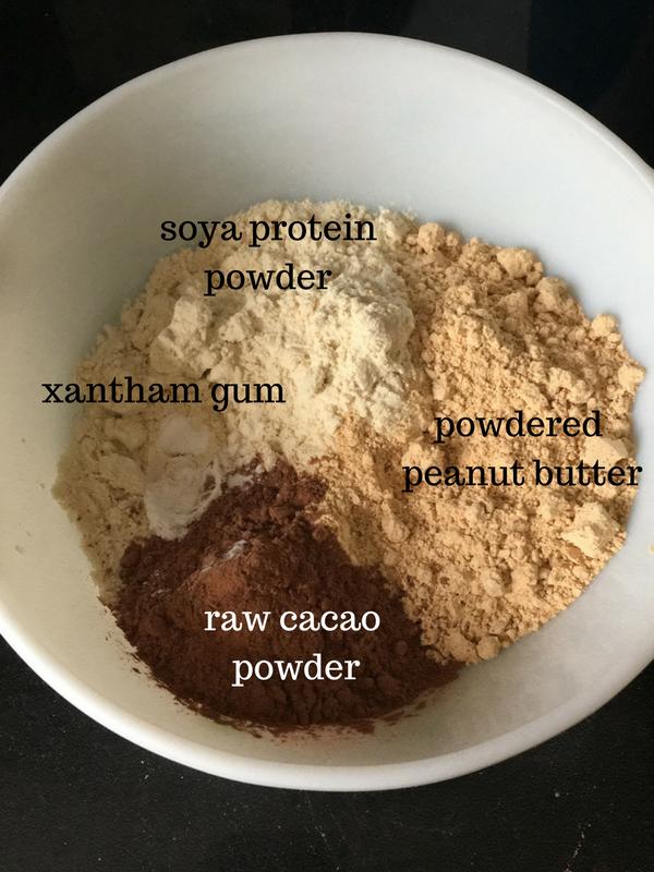Chocolate peanut protein cups (GF, DF)
