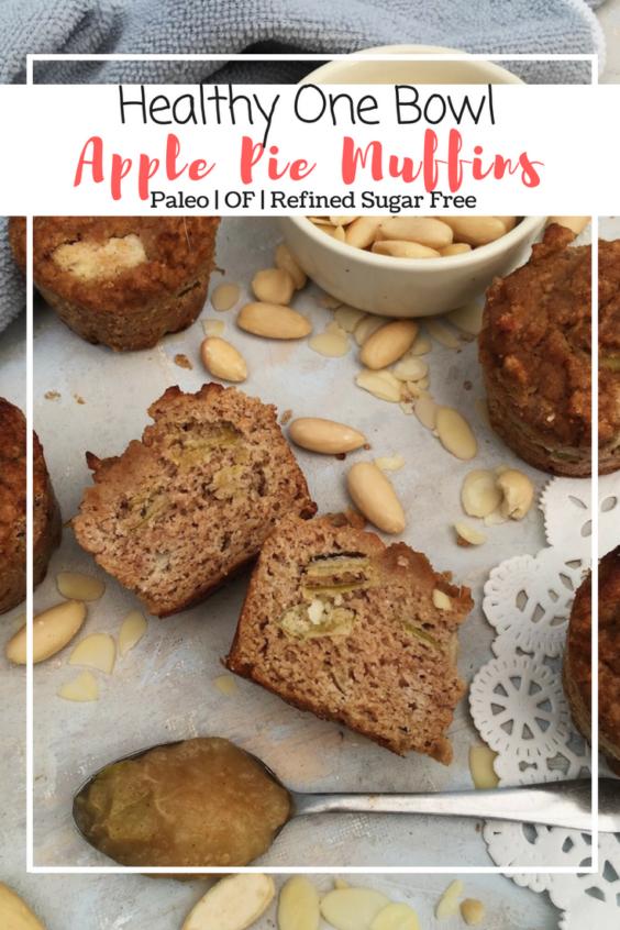 Apple Pie Muffins (Paleo, RFS, OF)