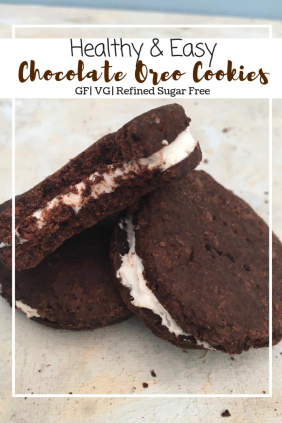 Chocolate Oreo Cookies (GF, VG, RFS)