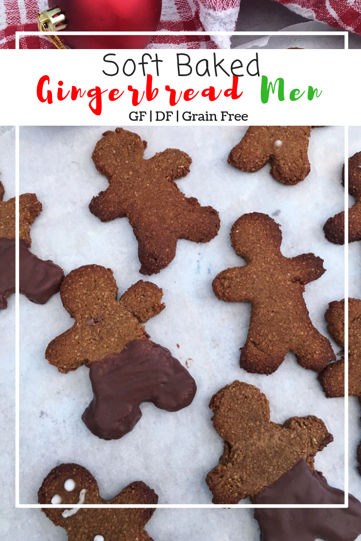 Gingerbread Men (GF, DF, Grain Free)