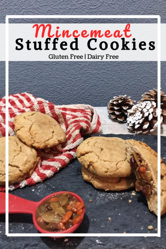 Mincemeat Stuffed Cookies (GF, DF)