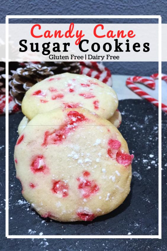 Candy Cane Sugar Cookies (GF, DF)