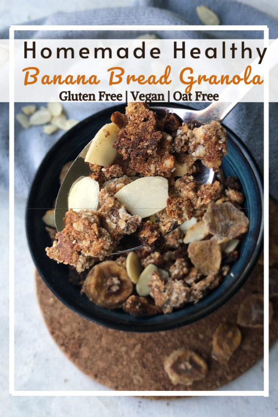 Banana Bread Granola (GF, VG, Oat Free)