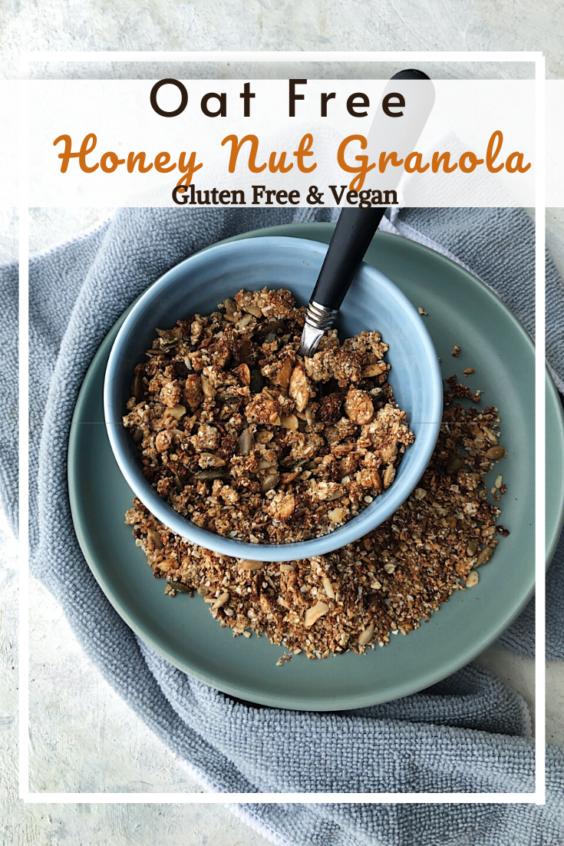 Honey Nut Granola (GF, VG, Oat Free)