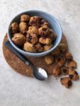 spilled bowl of cereal