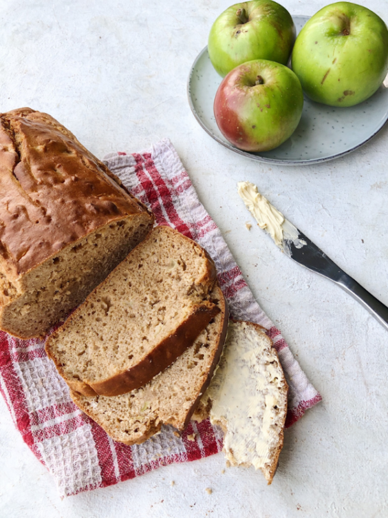 Spiced Apple Loaf (Gluten Free, Dairy Free)