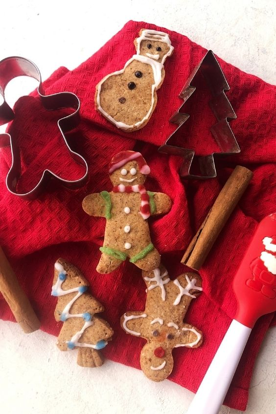 Soft Gingerbread Men (Gluten Free, Vegan)