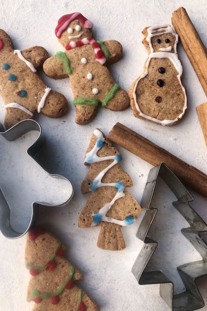 selection of gingerbread men