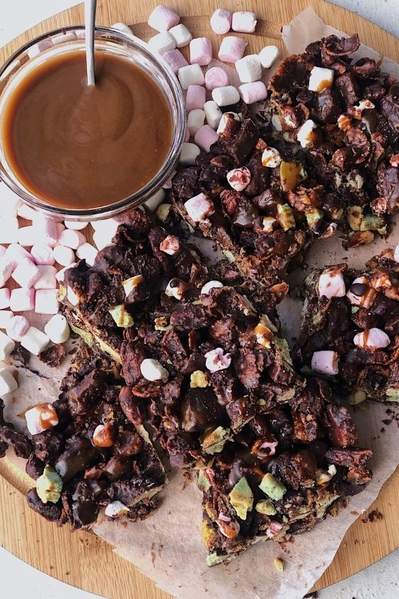Easter Rocky Road (Gluten Free and Vegan)