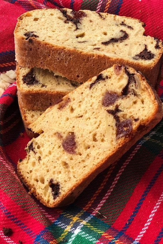 Chocolate Cherry Bakewell Loaf (Gluten Free, Dairy Free, Oil Free)