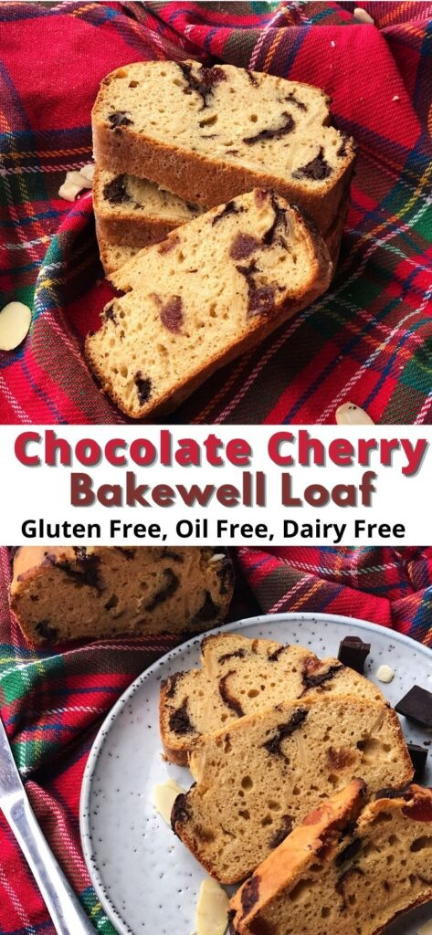 chocolate cherry bakewell loaf