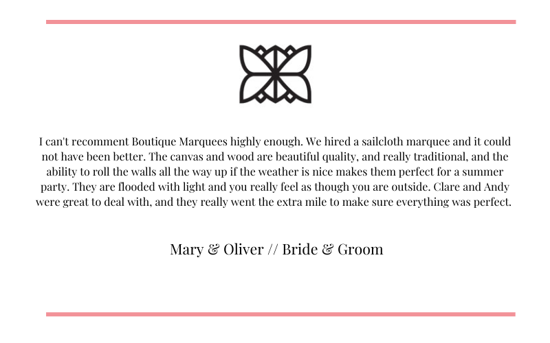 Mary and Oliver Testimonial