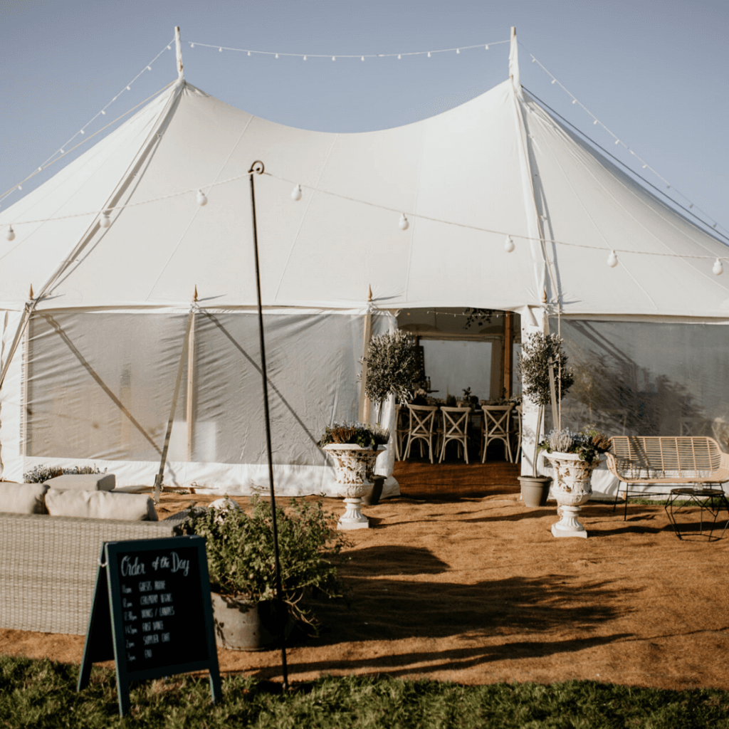 12x18m Sailcloth Canvas Marquee