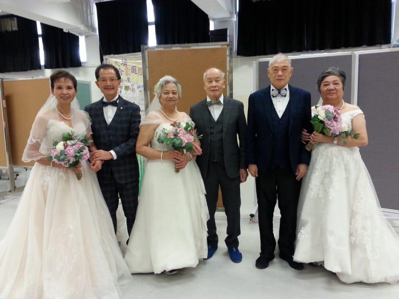 中心長者代表出席聯區婚紗活動