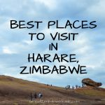 Best places in Harare Zimbabwe Africa