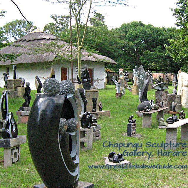 Chapungu Village Sculpture Gallery Zimbabwe