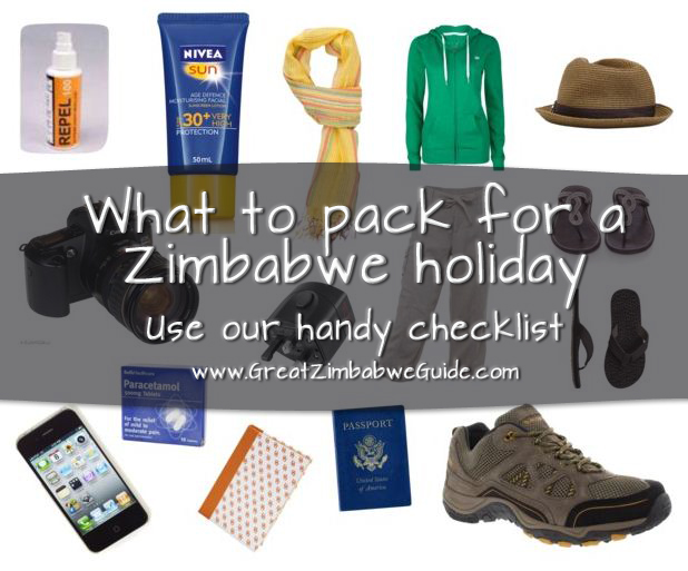 What to pack Zimbabwe