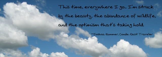 Tourism and optimism