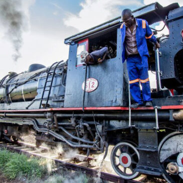 Best Vic Falls activities: 9. See Victoria Falls Bridge from a steam train