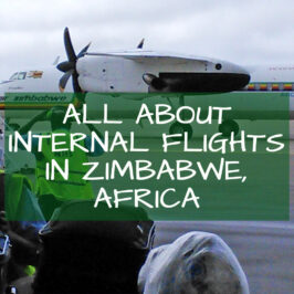 Internal Flights Zimbabwe Africa