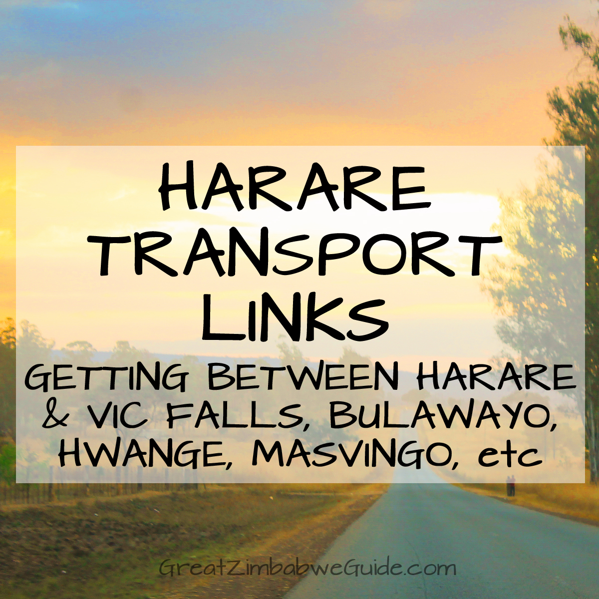 Harare Transport Routes