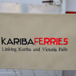 Kariba Ferries deck chair