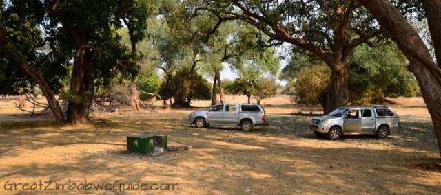 Mana Pools campsite 2