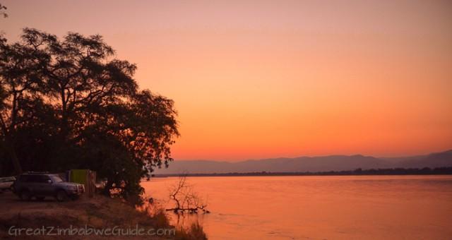Mana Pools sunset 3