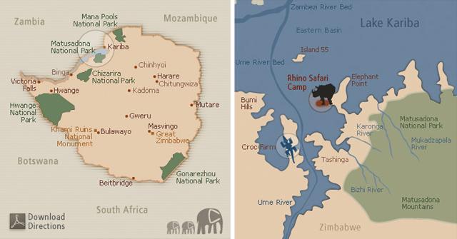 Rhino Safari Camp Zimbabwe 2