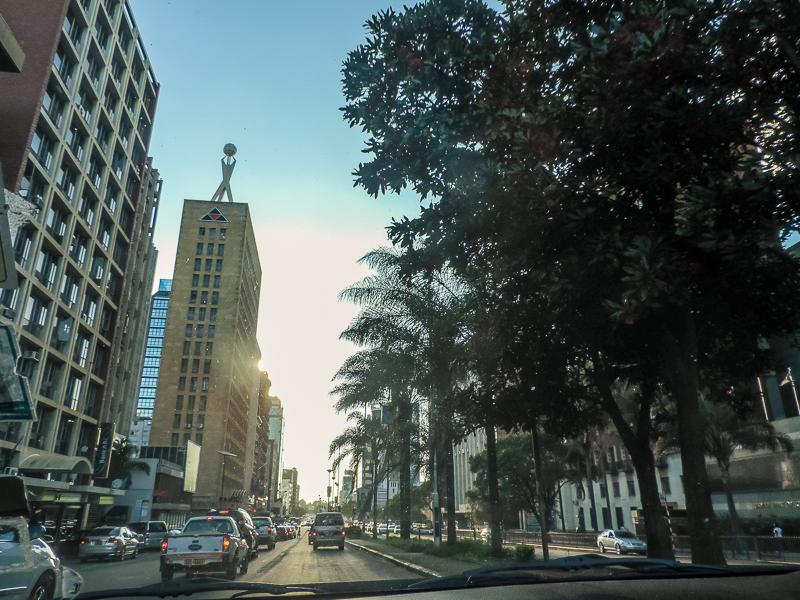 Harare city centre