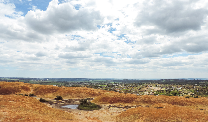 View from the rock Zimbabwe