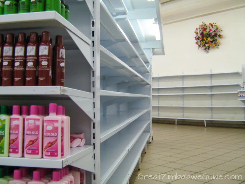 Great Zimbabwe Guide 2008 Supermarket Shelves