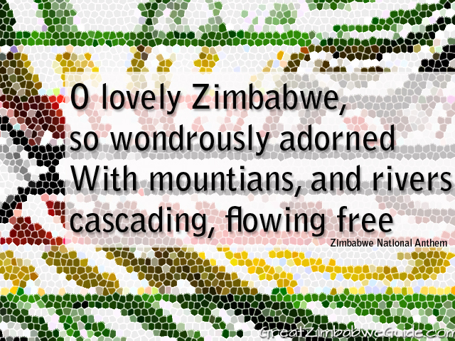 O lovely Zimbabwe so wondrously adorned
