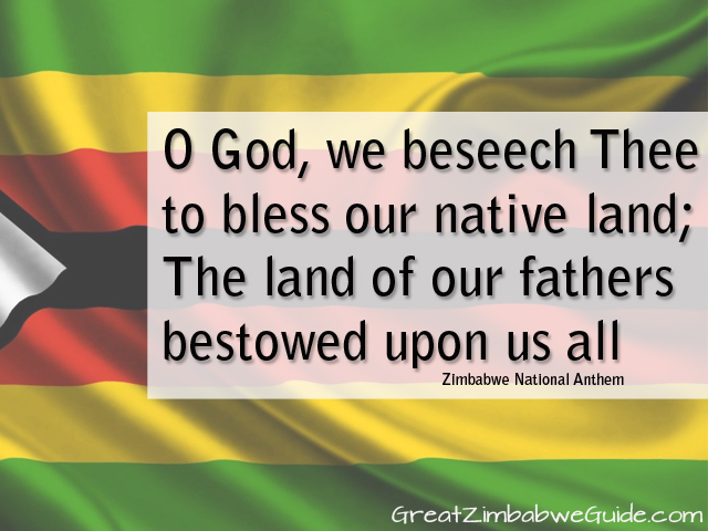 O God we beseech thee to bless our native land