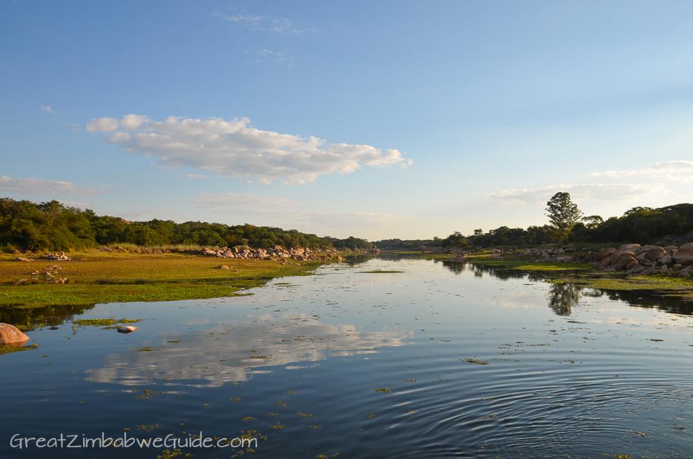 Mbizi Game Park Zimbabwe river view