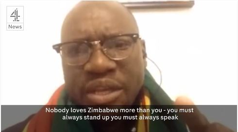 Evan Mawarire Zimbabwe Tourist Advice