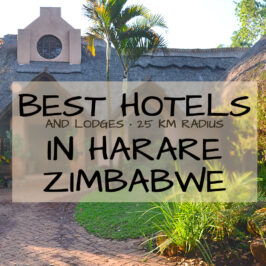 best hotels in harare zimbabwe