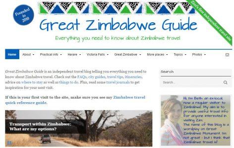 Screenshot Great Zimbabwe Guide Feb 2017