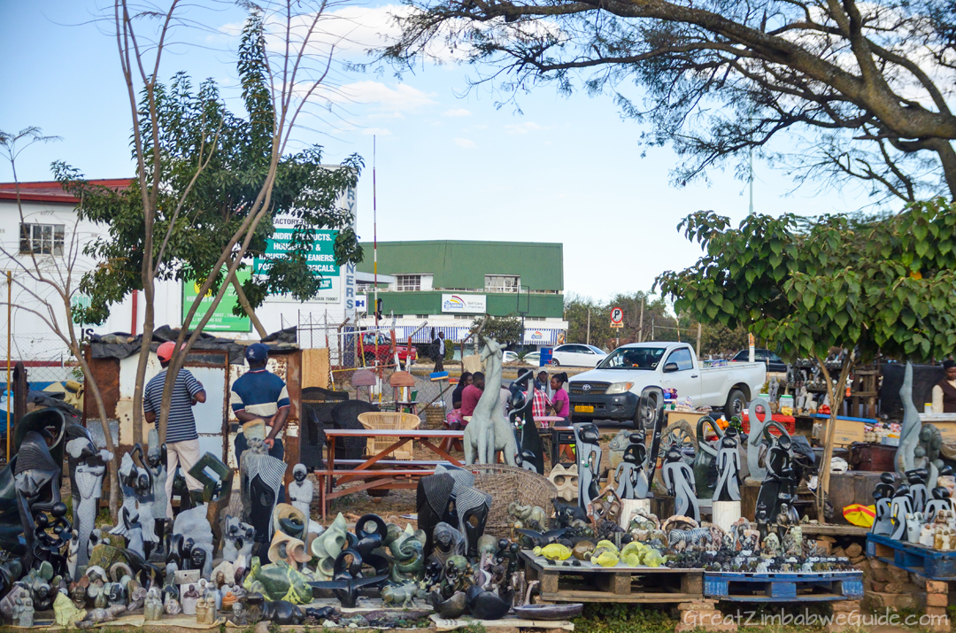 Harare Zimbabwe Craft Stalls 03