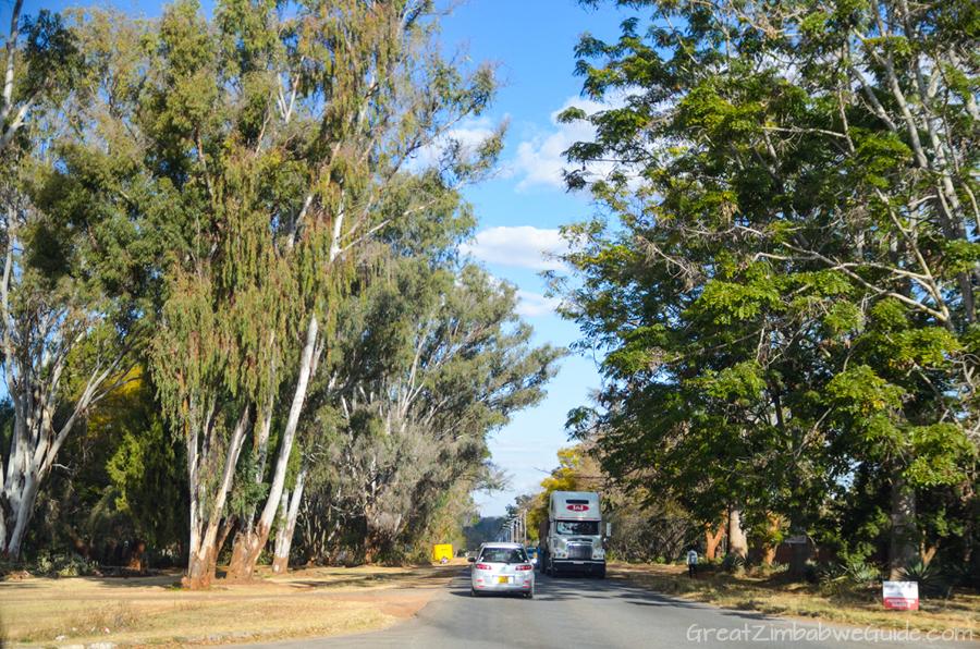 Harare Zimbabwe Road Churchill