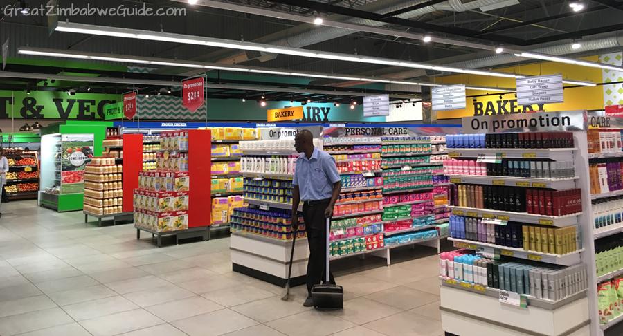 Harare Zimbabwe supermarket 01