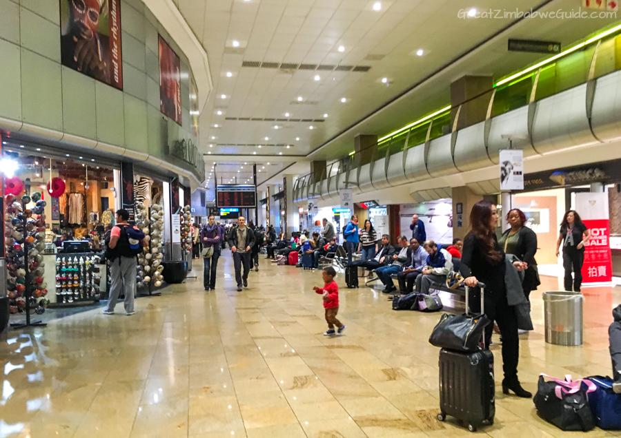 Transit through Johannesburg International Airport Transfer Info 04
