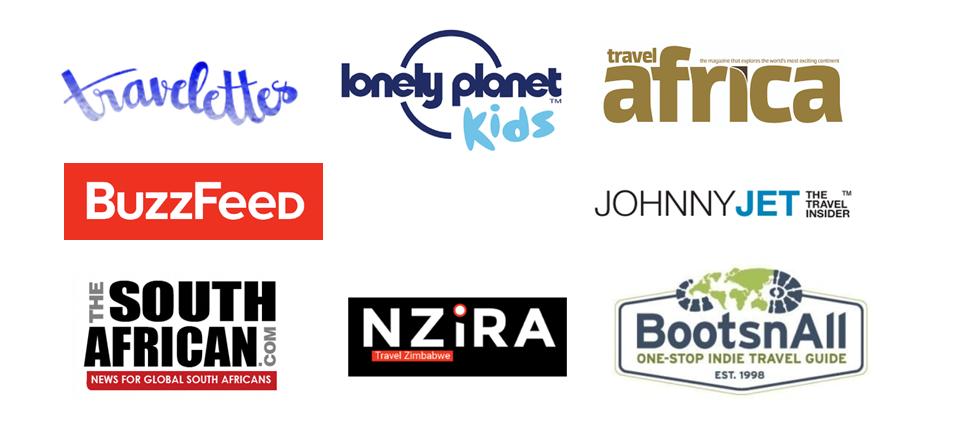 Travel publications logos