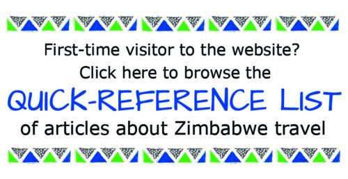 Zimbabwe Travel Quick Access List