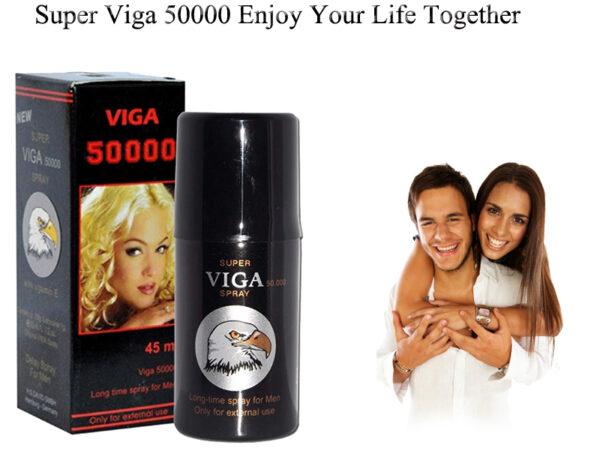 New Super VIGA 50000 Delay Spray Stop Premature Ejaculation With Vitamin E