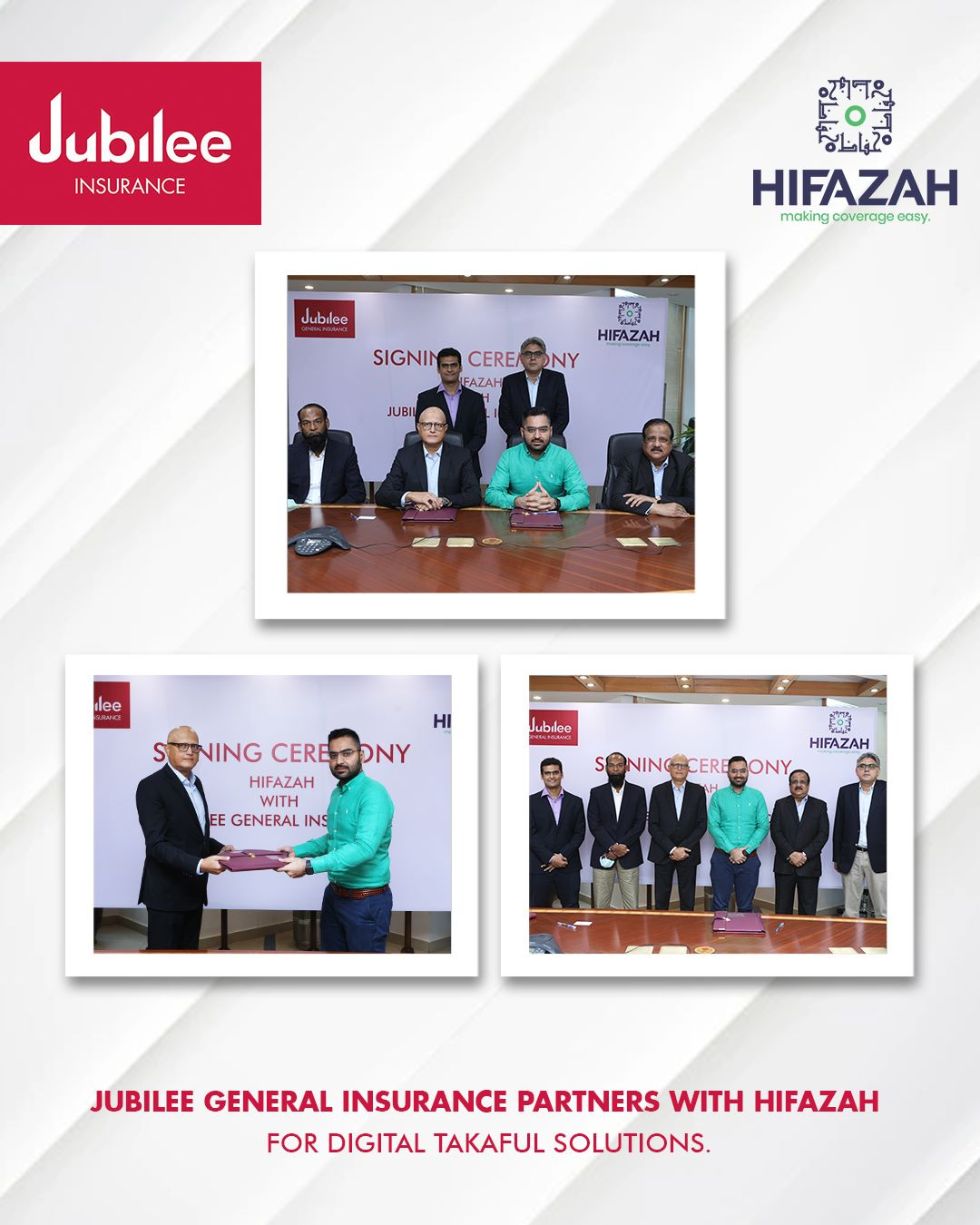 Jubilee General Partners with Hifazah