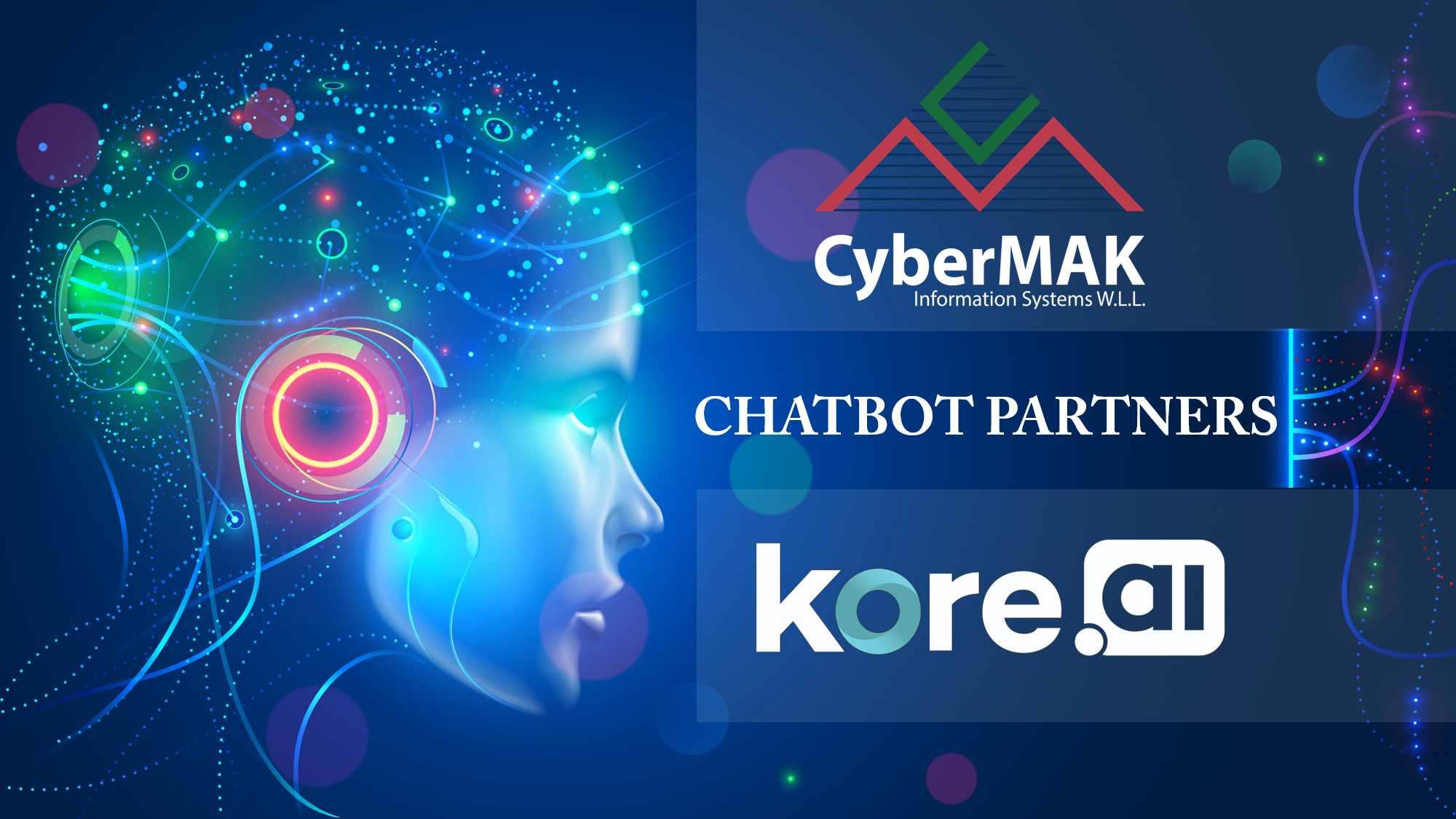 CyberMAK partners with Kore.ai offering Conversational AI-Powered Chatbots for Digital Transformation