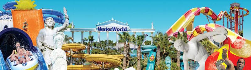 WaterWorld, the award-winning Greek themed waterpark in Ayia Napa